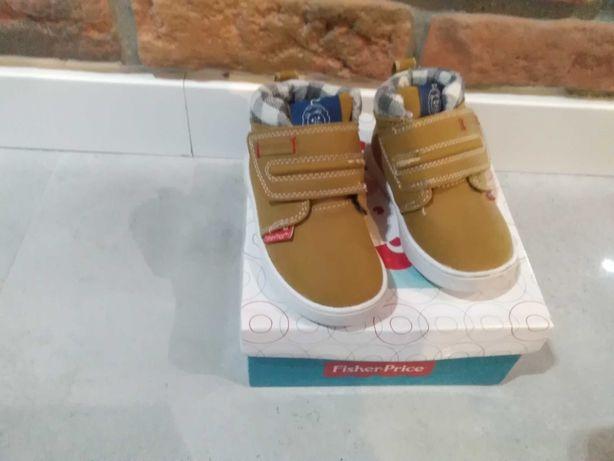Buty zimowe dla chłopca roz. 21 Fisher Price
