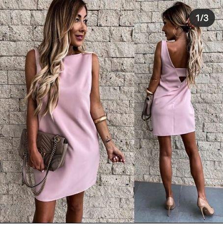 Модное платье,прямого покроя