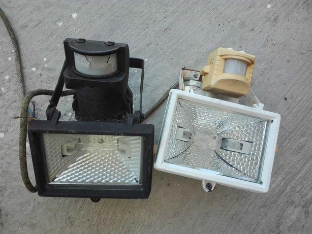 Projetores com sensor de movimento usados