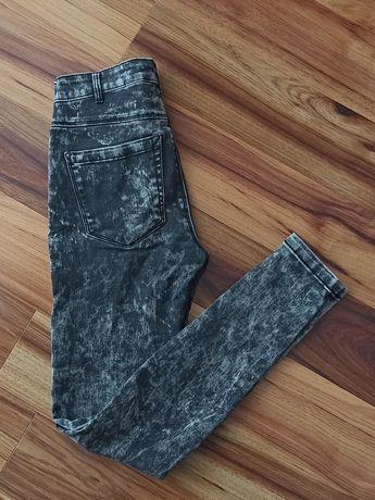 Spodnie rurki Only XS 34 marmurkowe
