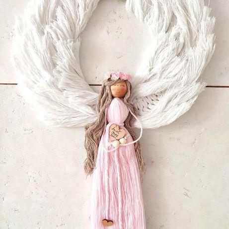 Anioł stróż makrama LoweSowe