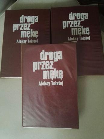 """Aleksy Tołstoj"""" Droga przez mękę"""" trzy tomy -książki"""
