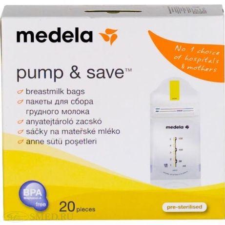 Пакеты Medela для хранения молока