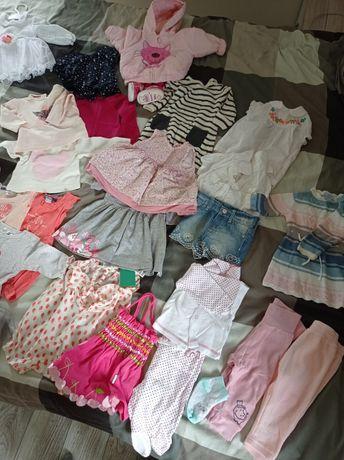 Ubranka niemowlęce dziewczęce