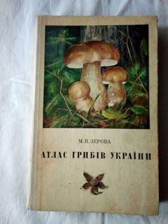 Книга атлас грибов Украины
