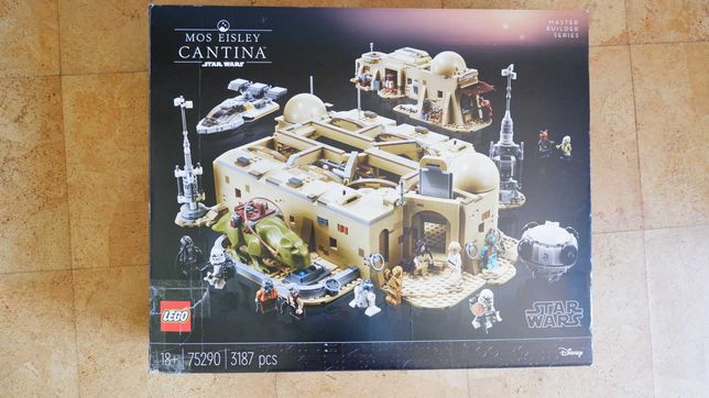 Lego 75290 - Star Wars Cantina do Mos Eisley