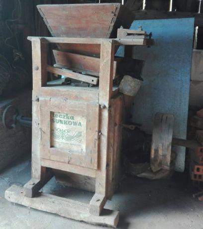 Drewniany śrutownik