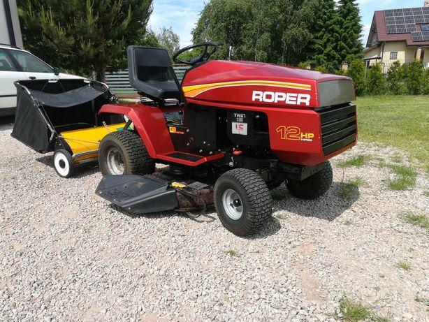 Wielki traktorek kosiarka Roper 16hp TWIN zamiatarka!