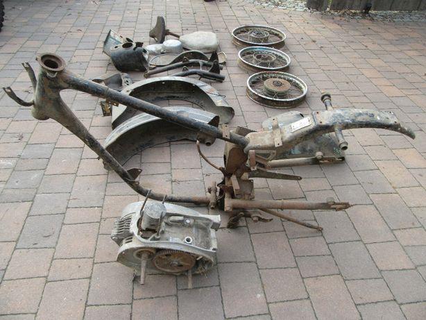 rama Mz es 250/1 jaskółka trophy silnik 250 czesci