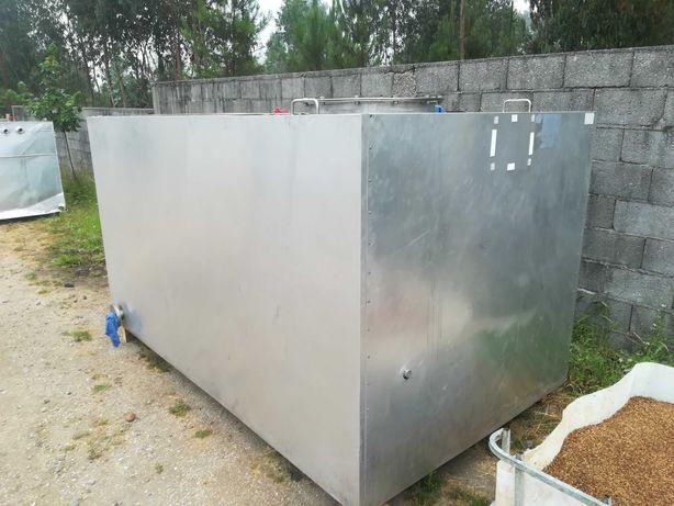 Tanque INOX 316L 5000 litros