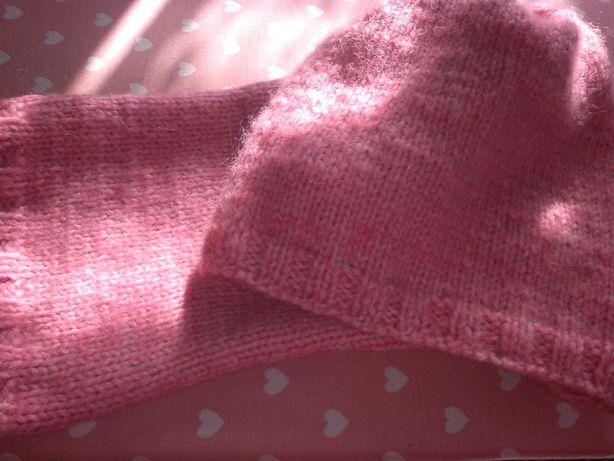 Продам вязаную шапочку + шарфик