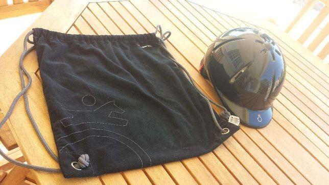 Toque de equitação junior com saco - Fouganza - Decathlon