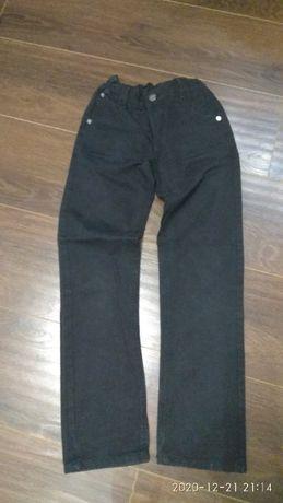 Джинсовые брюки черные детские, рост 146-158, р. 38.