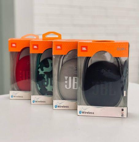 Портативная Bluetooth колонка JBL Clip 4
