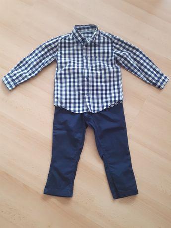 Spodnie i koszula r.98 2-3lata