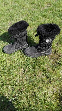 Buty zimowe dla dziewczynki r. 27