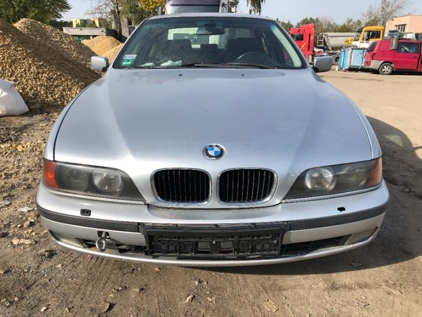 BMW E39 523I 2.5 170KM M52B25,Arktissilber Metallic,Europa-na czesci !