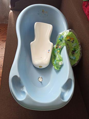 Ванночка для купания+горка+круг