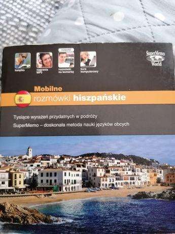 Mobilne rozmówki hiszpańkie z płytą CD
