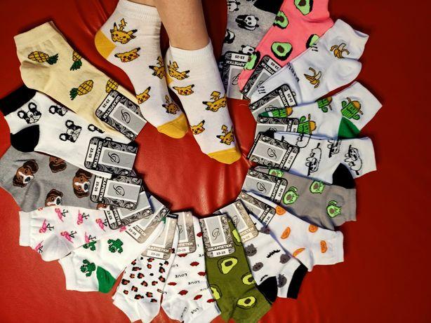 Крутые яркие молодежные носки