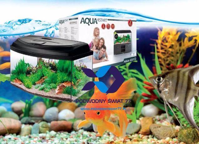 Zestaw akwarystyczny Aqua Szut Aqua4Start 60/O nowy 2l gwar - akwarium