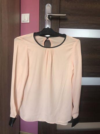 Elegancka łososiowa bluzka