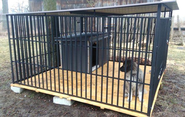 Kojec dla psa, kojce dla psów, boks, profil zamknięty, na wymiar