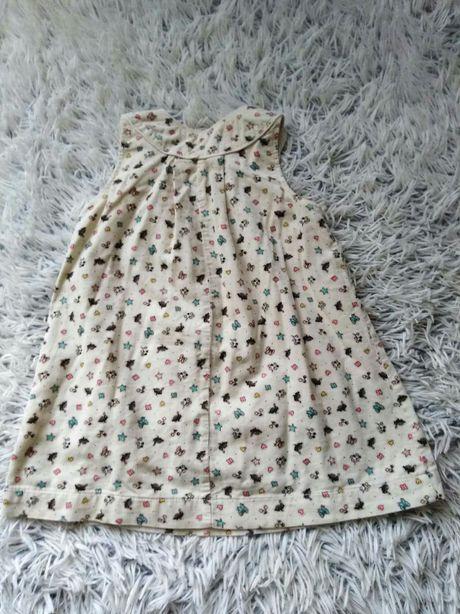 Sukienka na dziewczynkę.