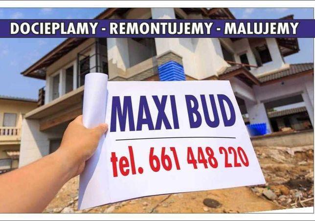 MAXI Bud Docieplenia usługi remontowe