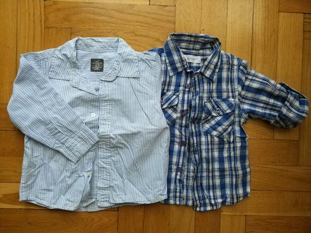 Koszula na długi rękaw rozmiar 86cm H&M