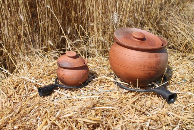 Продам глиняный Горшок ручной работы собственного производства