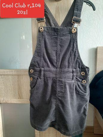 Sukienki spódniczki ubrania dziewczynka 98 104