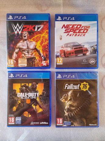 Lote jogos playstation ps4
