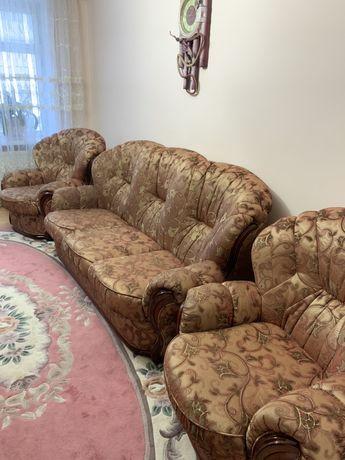 Диван. Кресло. Мебель в гостинную. Роскладной диван. Роскладное кресло