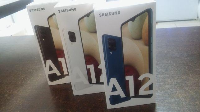 Samsung Galaxy A12 4/64GB 3 Kolory ! ## Z PLAY ## NIE ZABLOKUJĄ ##