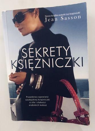 Książka Sekrety księżniczki Jean Sasson
