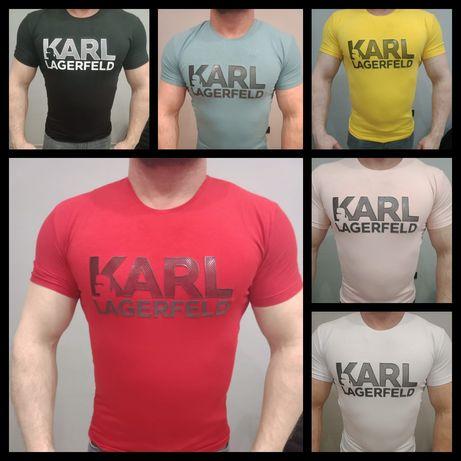 Koszulka t-shirt Męski Karl Lagerfeld M-XXL Premium