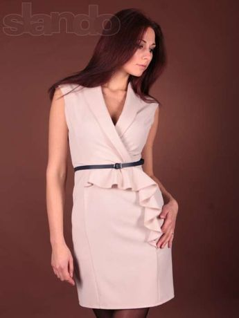 Платье новое ,48 размер,пояс в комплекте.На объем груди 96, талии 76,