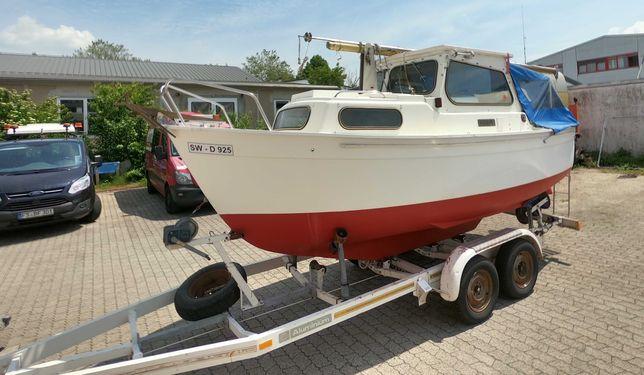 Jacht Żaglowo Motorowy Hardy 537 + Przyczepa