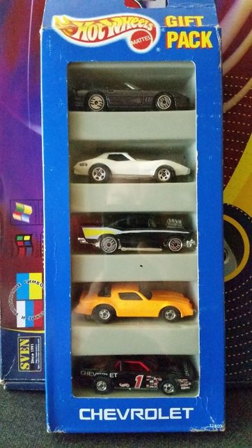 Hot wheels Chvrolet Gift Pack (5 Pack) 1993 Года