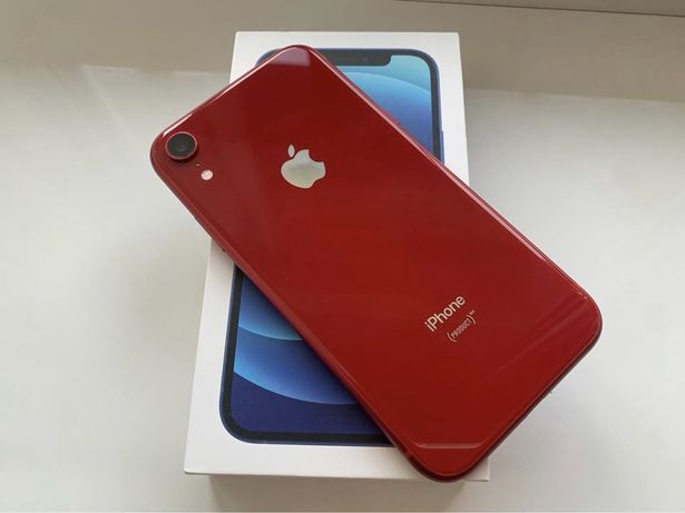 iPhone XR 64GB Red Как новый / Neverlock