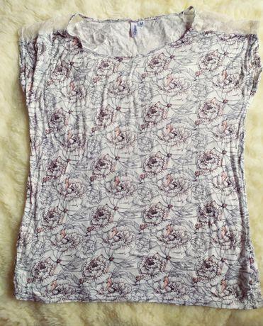 Bluzka z krótkim rękawem koszulka L
