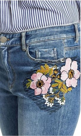 Marc Cain piękne nowe jeansy N5 42