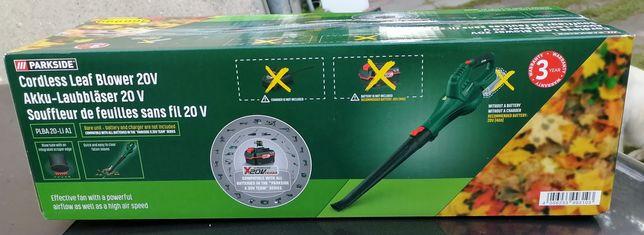 Nowa Akumulatorowa dmuchawa parkside PLBA 20-L1 A1 20v