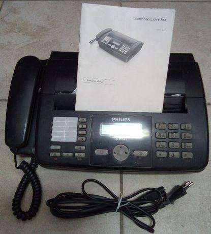 Telefon z faxem Philips hfc 342
