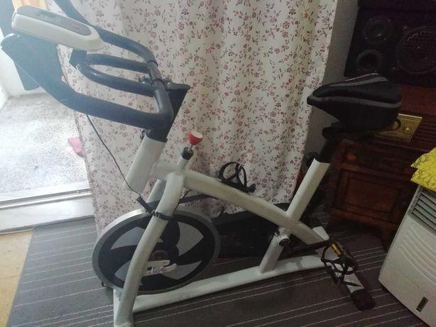 Bicicleta spinning bh. 9 usada