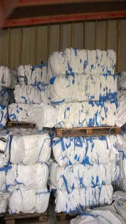 Worki Big Bag Czyste wysokość 130cm 4 uchwyty Mocne Szwy!