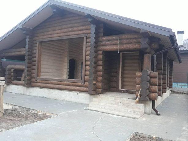 Будівницто будинків із зрубу, бань із зрубу