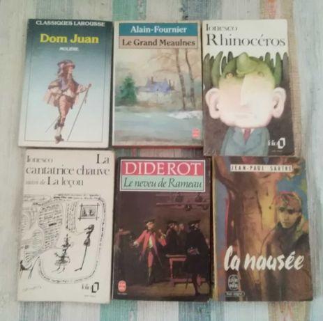 Livres en français / livros em francês