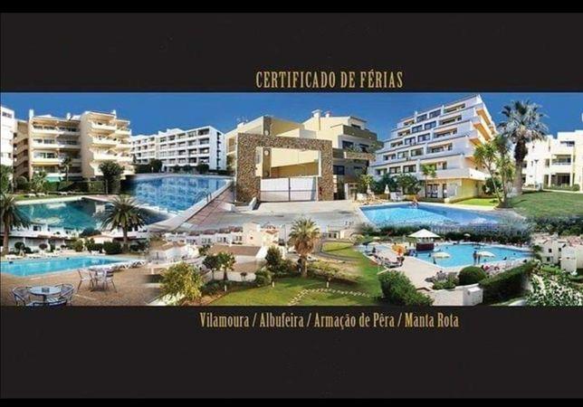 Certificado de férias no Algarve